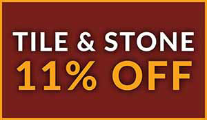 Tile and Stone 11% off